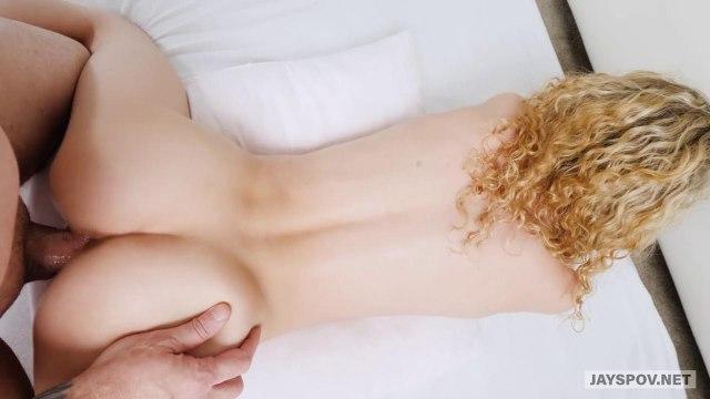 Блондинка полирует на кастинге хуй продюсера ротиком и влагалищем #6
